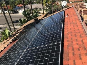 installing solar beneath tile roofs