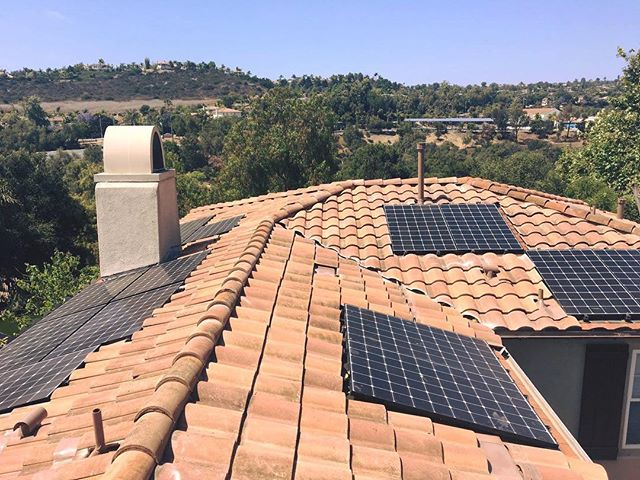 SOLAR on Tile Roofs