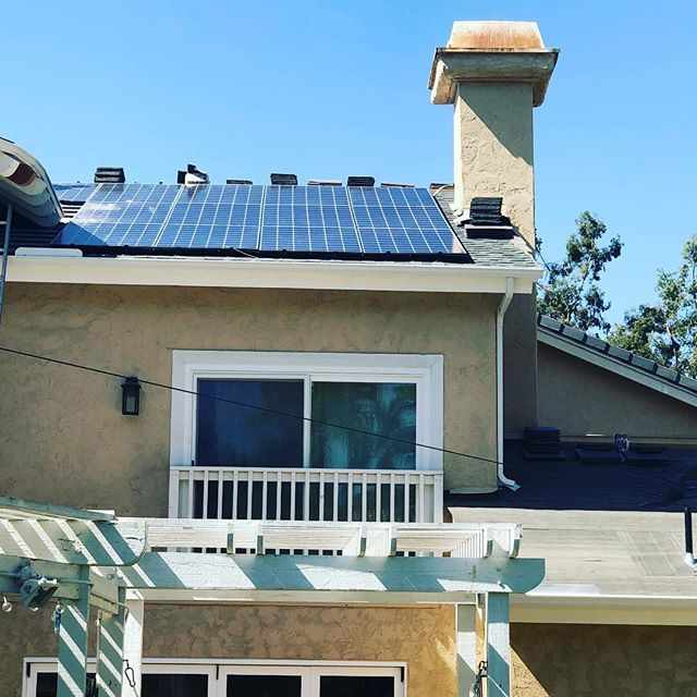 roof replacement with solar panel installation